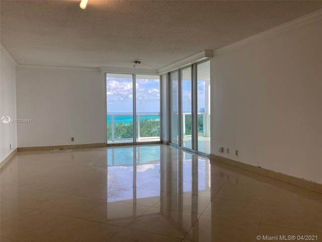 100 Bayview Dr #1116, Sunny Isles Beach, FL 33160 (MLS #A11024641) :: Team Citron