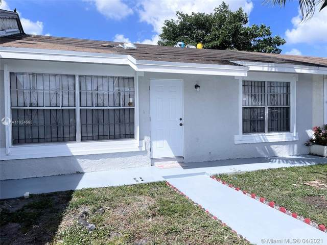 18031 NW 41st Pl, Miami Gardens, FL 33055 (MLS #A11024665) :: Lucido Global