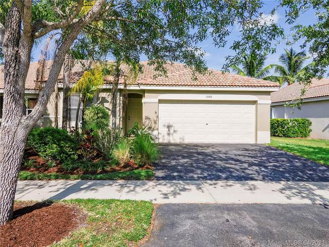 1590 Orion Ln, Weston, FL 33327 (MLS #A11024778) :: The Howland Group