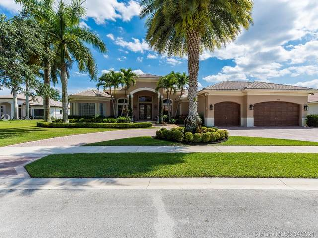 14858 SW 34th St, Davie, FL 33331 (MLS #A11024989) :: The Jack Coden Group