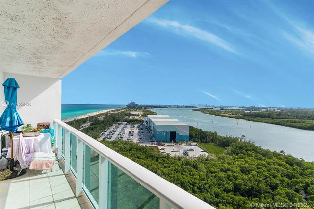 100 Bayview Dr #2121, Sunny Isles Beach, FL 33160 (MLS #A11025030) :: The Riley Smith Group