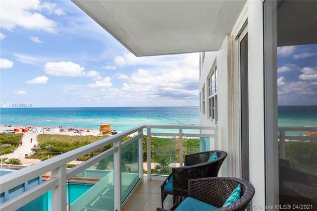 6917 Collins Ave #604, Miami Beach, FL 33141 (MLS #A11025230) :: The Riley Smith Group