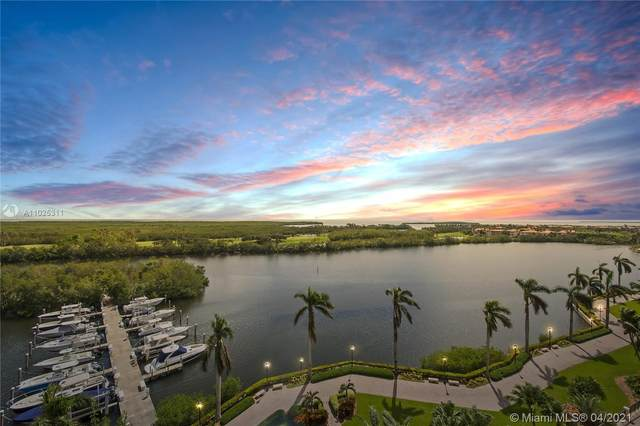 13611 Deering Bay Dr #801, Coral Gables, FL 33158 (MLS #A11025311) :: The Howland Group