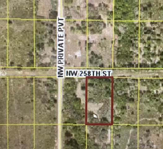 18178 NW 258th St Okeechobee, Okeechobee, FL 34972 (MLS #A11025421) :: Douglas Elliman