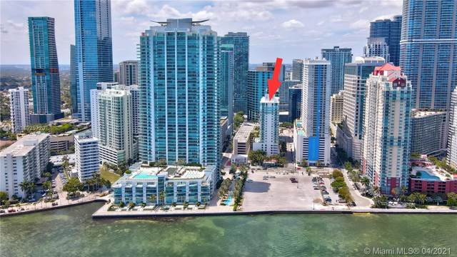 186 SE 12th Ter #1103, Miami, FL 33131 (MLS #A11025720) :: The Howland Group