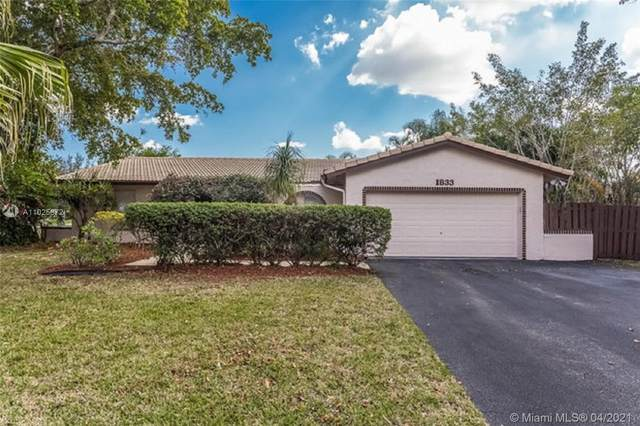 1833 NW 85th Dr, Coral Springs, FL 33071 (MLS #A11025872) :: Natalia Pyrig Elite Team | Charles Rutenberg Realty