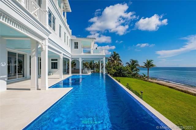 4101 S Ocean Blvd, Highland Beach, FL 33487 (MLS #A11026152) :: Jo-Ann Forster Team