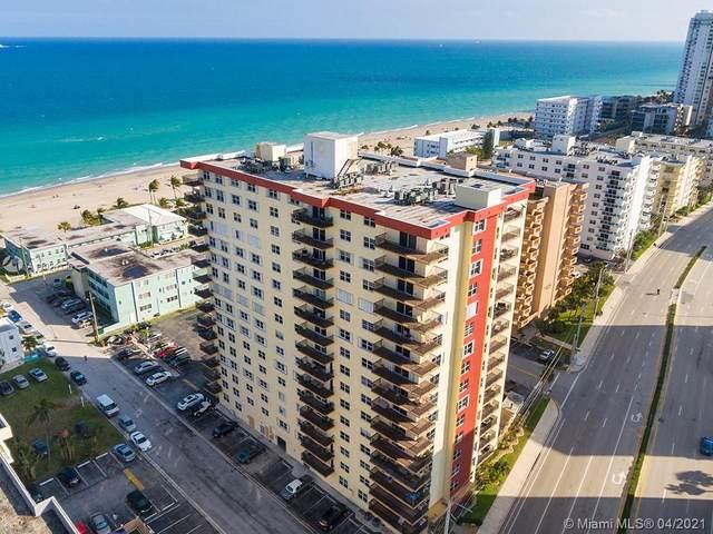 1501 S Ocean Dr #1402, Hollywood, FL 33019 (MLS #A11026325) :: Green Realty Properties