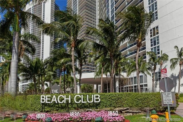 1850 S Ocean Dr #2008, Hallandale Beach, FL 33009 (MLS #A11026502) :: Team Citron