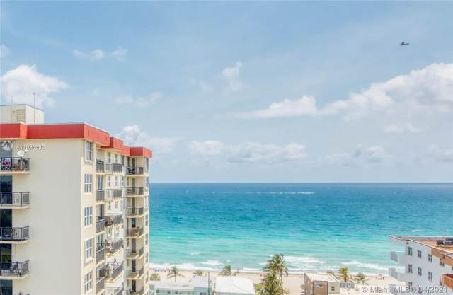 1400 S Ocean Dr #1201, Hollywood, FL 33019 (MLS #A11026630) :: Green Realty Properties