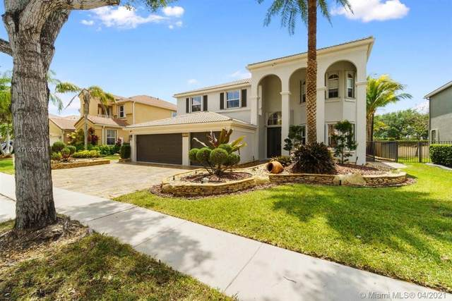16768 SW 16th St, Pembroke Pines, FL 33027 (MLS #A11026720) :: Green Realty Properties