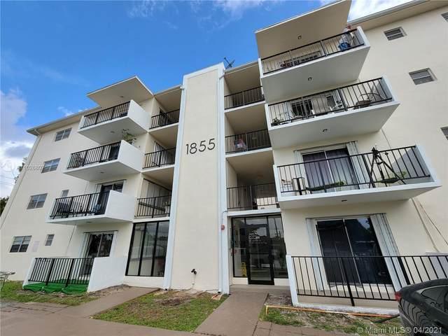 1855 W Plunkett St #403, Hollywood, FL 33020 (MLS #A11026807) :: Green Realty Properties