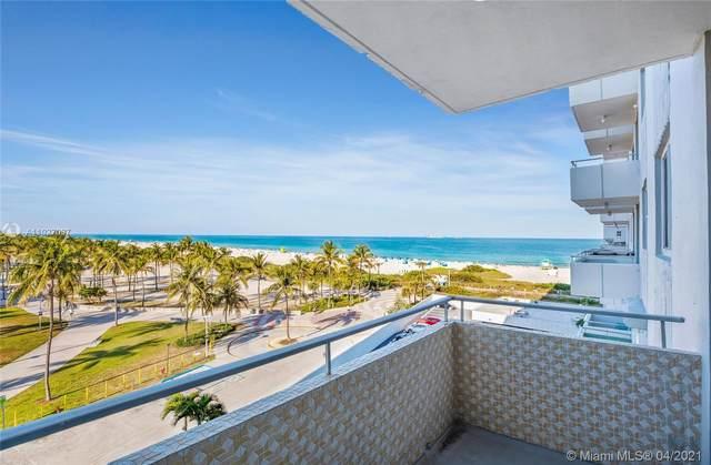 465 Ocean Dr #623, Miami Beach, FL 33139 (MLS #A11027037) :: Equity Realty
