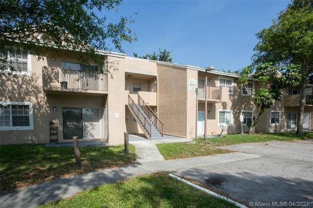 2031 NW 96th Ter 11F, Pembroke Pines, FL 33024 (MLS #A11027097) :: The Teri Arbogast Team at Keller Williams Partners SW