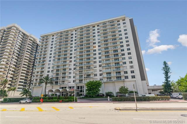 5701 Collins Ave #1201, Miami Beach, FL 33140 (MLS #A11027211) :: The Rose Harris Group