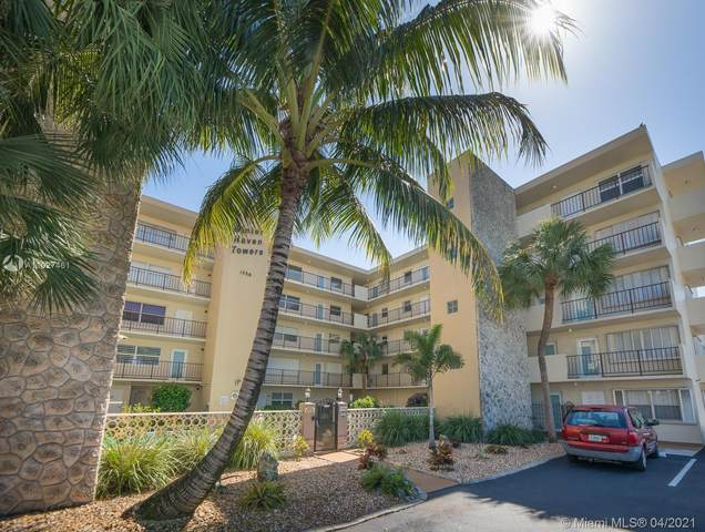1750 Jefferson St #407, Hollywood, FL 33020 (MLS #A11027461) :: Equity Realty