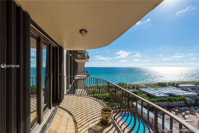 8777 Collins Ave #910, Surfside, FL 33154 (MLS #A11027486) :: The Pearl Realty Group