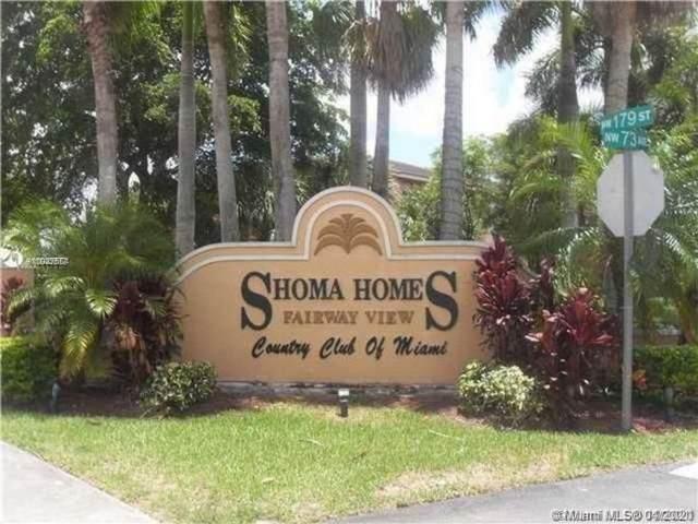 17710 NW 73rd Ave 202-20, Hialeah, FL 33015 (#A11027564) :: Dalton Wade