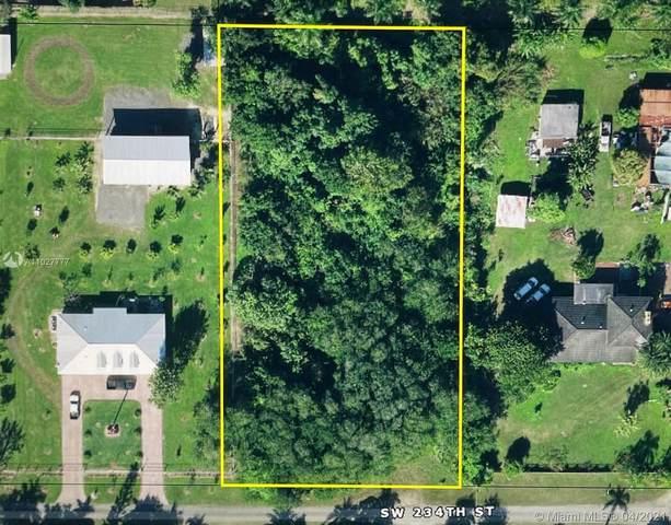 196xx SW 234 St, Homestead, FL 33031 (MLS #A11027777) :: The Paiz Group