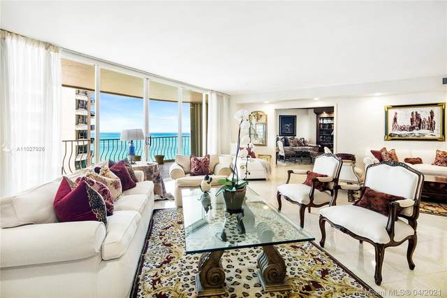 10155 Collins Ave #1404, Bal Harbour, FL 33154 (MLS #A11027926) :: Compass FL LLC