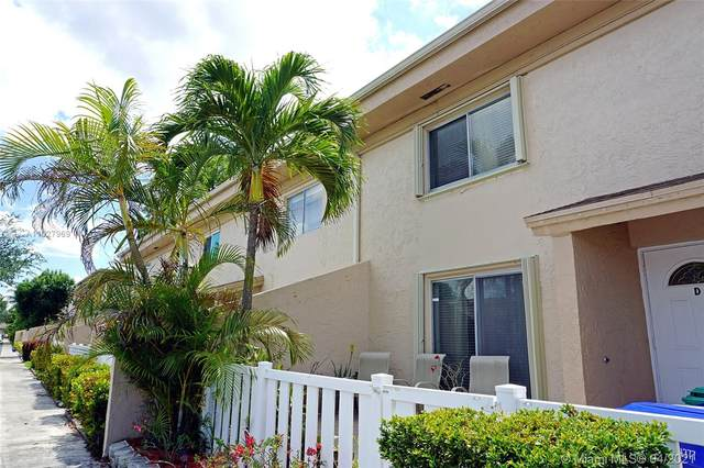 1605 NW 80th Ave D, Margate, FL 33063 (MLS #A11027969) :: The Paiz Group