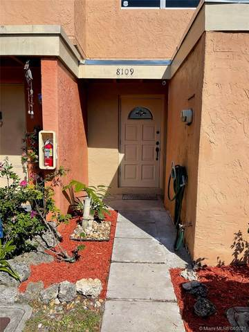 8109 SW 151st Ave #313, Miami, FL 33193 (MLS #A11028035) :: Berkshire Hathaway HomeServices EWM Realty
