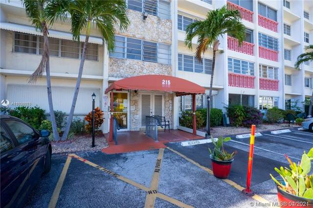 215 SE 3rd Ave 302D, Hallandale Beach, FL 33009 (MLS #A11028076) :: Team Citron