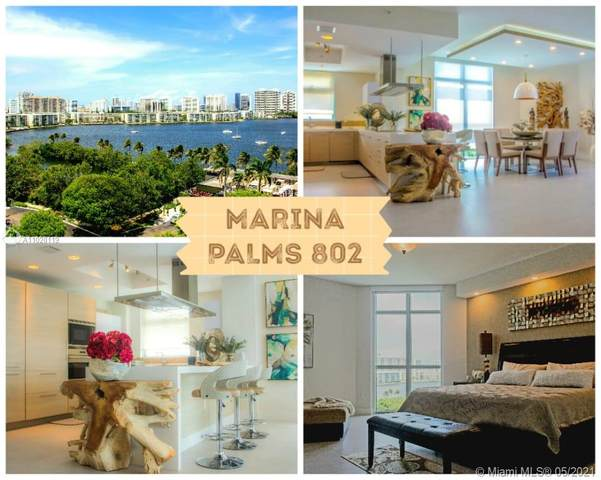 17301 Biscayne Blvd #802, North Miami Beach, FL 33160 (MLS #A11028119) :: The Howland Group