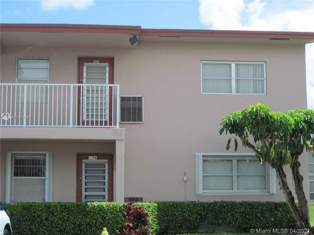 600 NW 80th Ave #208, Margate, FL 33063 (MLS #A11028283) :: The Teri Arbogast Team at Keller Williams Partners SW