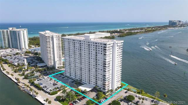 500 Bayview Dr #625, Sunny Isles Beach, FL 33160 (MLS #A11028321) :: Carlos + Ellen