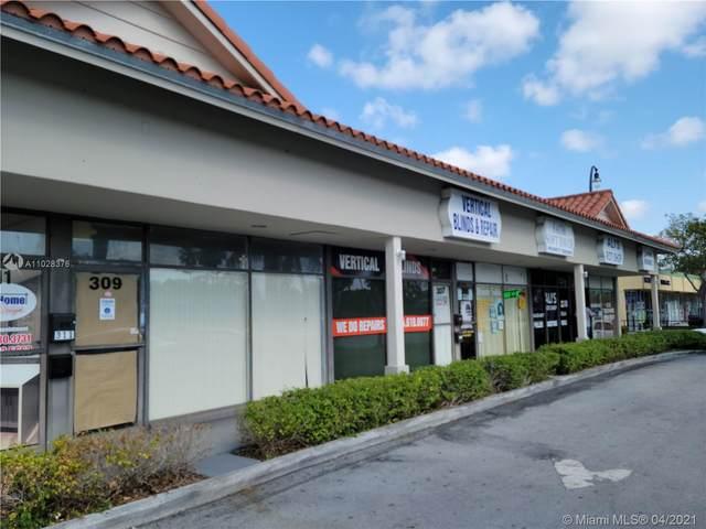 301-319 S State Road 7, Plantation, FL 33317 (MLS #A11028376) :: Search Broward Real Estate Team