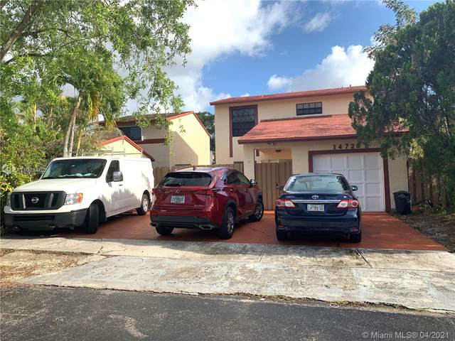 14720 SW 107th Ter, Miami, FL 33196 (MLS #A11028462) :: The Riley Smith Group