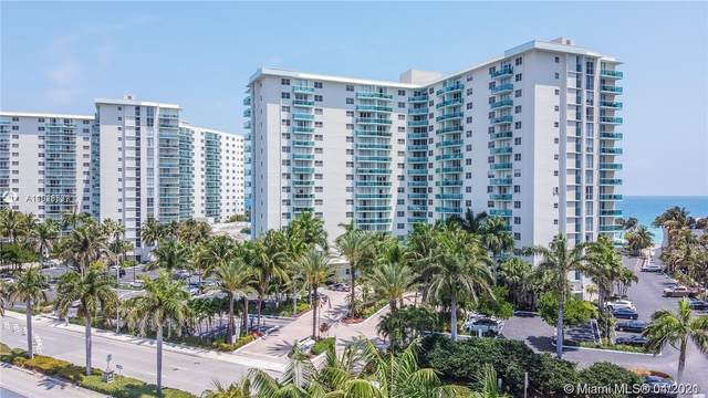3901 S Ocean Dr 8H, Hollywood, FL 33019 (MLS #A11028537) :: The Howland Group