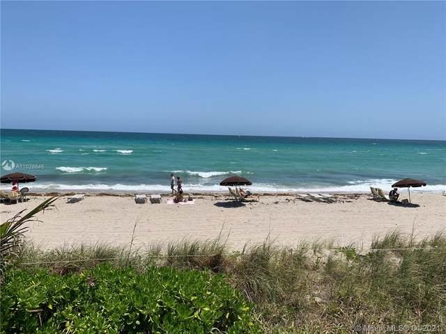 1904 S Ocean Dr #1107, Hallandale Beach, FL 33009 (MLS #A11028646) :: Compass FL LLC