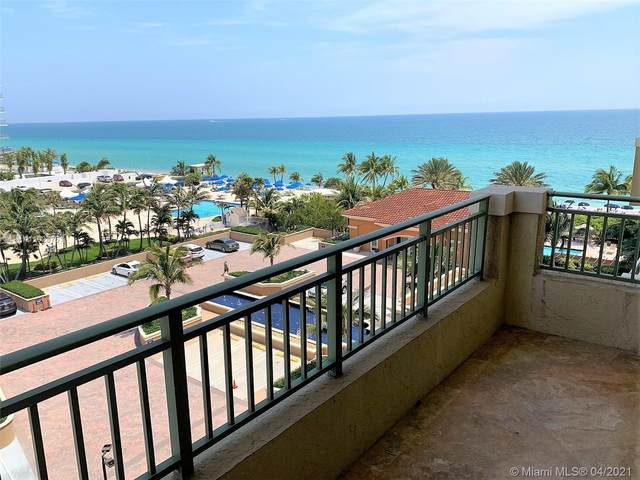 2080 S Ocean Drive #604, Hallandale Beach, FL 33009 (MLS #A11028751) :: The Teri Arbogast Team at Keller Williams Partners SW