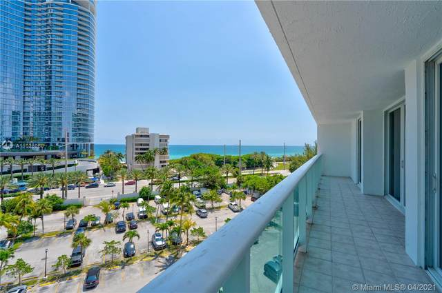 100 Bayview Dr #714, Sunny Isles Beach, FL 33160 (MLS #A11028960) :: The Riley Smith Group
