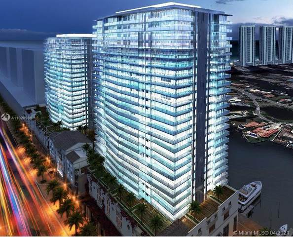 300 Sunny Isles Blvd 4-1806, Sunny Isles Beach, FL 33160 (MLS #A11028986) :: Dalton Wade Real Estate Group