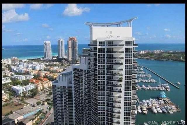 400 Alton Rd #809, Miami Beach, FL 33139 (MLS #A11029036) :: Team Citron