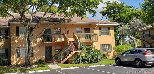 10309 NW 8th St #105, Pembroke Pines, FL 33026 (MLS #A11029116) :: Castelli Real Estate Services