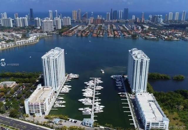 17111 Biscayne Blvd #1610, North Miami Beach, FL 33160 (MLS #A11029320) :: The Riley Smith Group