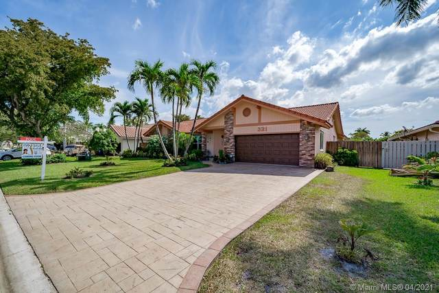 321 NW 108th Ave, Coral Springs, FL 33071 (MLS #A11029361) :: The Jack Coden Group