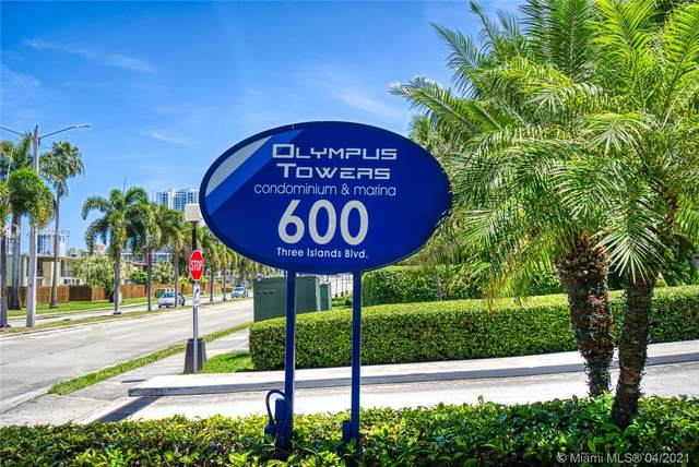 600 Three Islands Blvd #619, Hallandale Beach, FL 33009 (MLS #A11029452) :: Equity Advisor Team