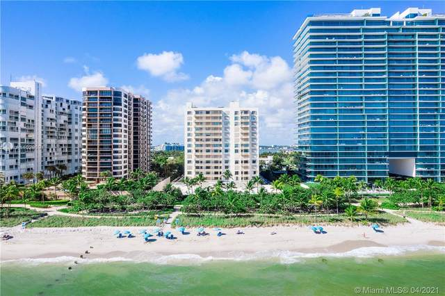 10185 Collins Ave #1015, Bal Harbour, FL 33154 (MLS #A11029691) :: United Realty Group