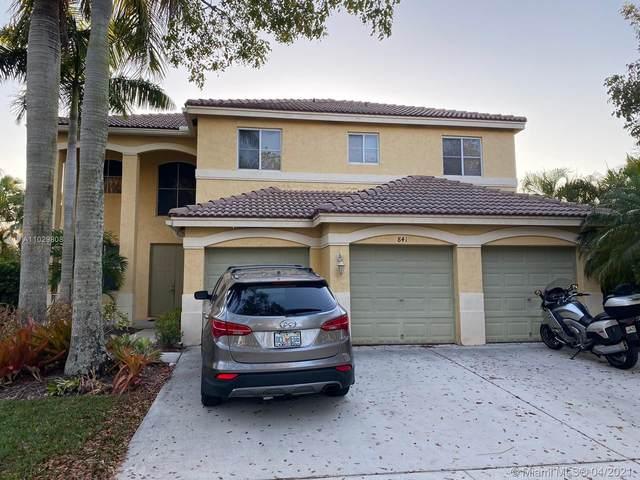 841 Lavender Cir, Weston, FL 33327 (MLS #A11029808) :: Compass FL LLC