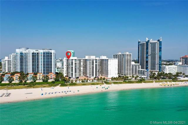 6039 Collins Ave #1722, Miami Beach, FL 33140 (#A11029947) :: Posh Properties