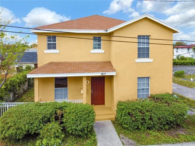 917 Douglass Ave, West Palm Beach, FL 33401 (MLS #A11030064) :: The Rose Harris Group