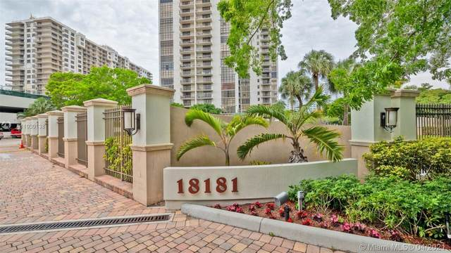 18181 NE 31st Ct #2110, Aventura, FL 33160 (MLS #A11030138) :: Equity Advisor Team