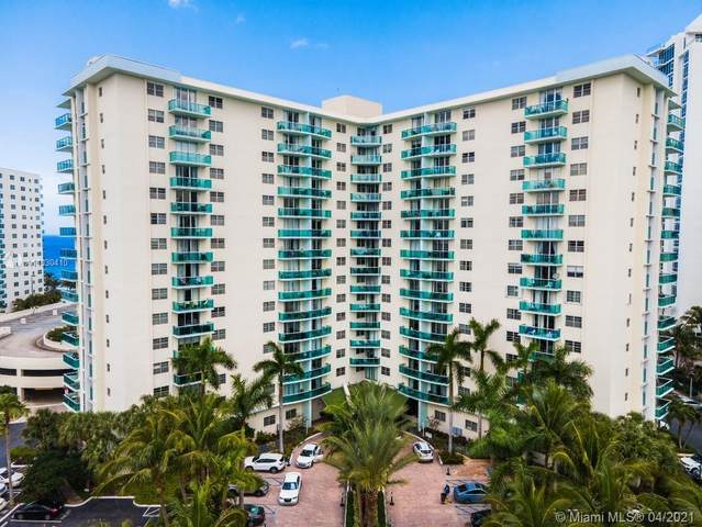 3801 S Ocean Dr 8C, Hollywood, FL 33019 (MLS #A11030410) :: Berkshire Hathaway HomeServices EWM Realty