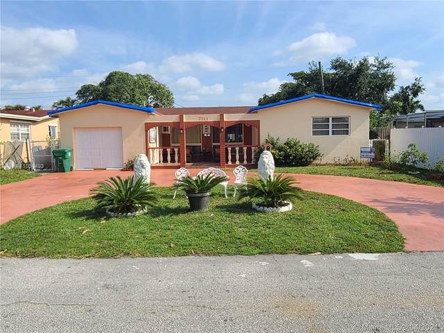 7713 Harbour Blvd, Miramar, FL 33023 (#A11030493) :: Posh Properties