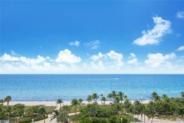 9801 Collins Ave 19J, Bal Harbour, FL 33154 (MLS #A11030603) :: Dalton Wade Real Estate Group
